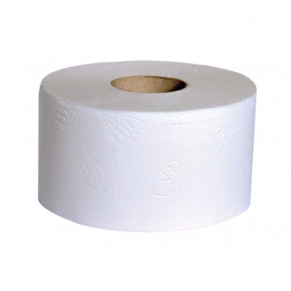 Тоалетна хартия Мини-джъмбо 100% целулоза